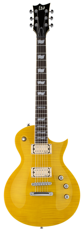 ESP LTD EC-401VF DMZ LD EC Series Electric Guitar with TOM Bridge/Tailpiece and Lemon Drop Finish