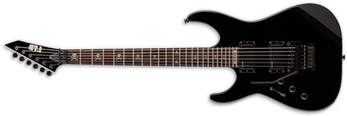 ESP LKH330BLKLH LTD Signature Series Kirk Hammett Left Handed Electric Guitar With Black Finish