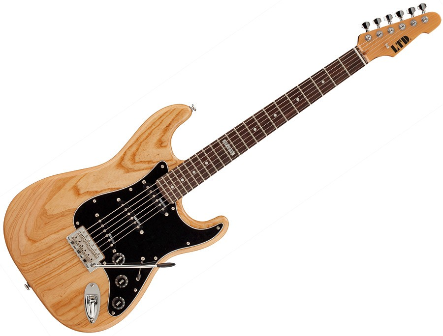 ESP LTD ST-213 ASH ROSEWOOD NAT Standard Series Electric Guitar with Natural Gloss Finish