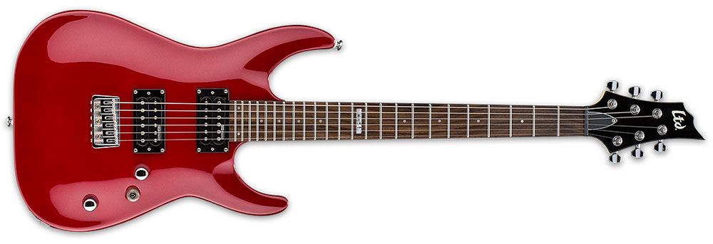 ESP LTD H-51 6-String Maple Neck Electric Guitar - Candy Apple Red Finish (LH51CAR)