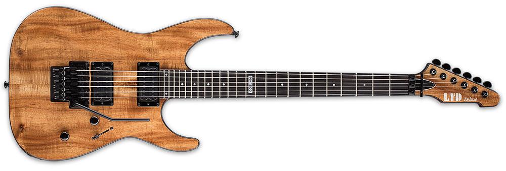 ESP LTD M-1000 KOA NAT 6-String M-Series Ebony Fingerboard Electric Guitar - Natural Gloss Finish (LM1000KNAT)