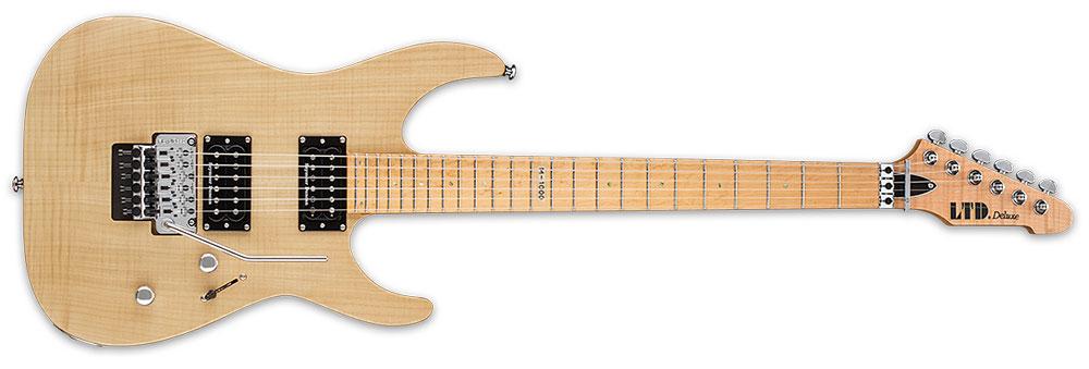 ESP LTD M-1000 SE NATURAL SATIN 6-String M-Series LTD Maple Fingerboard Electric Guitar - Vintage Natural Satin Finish (LM1000SEVNS)