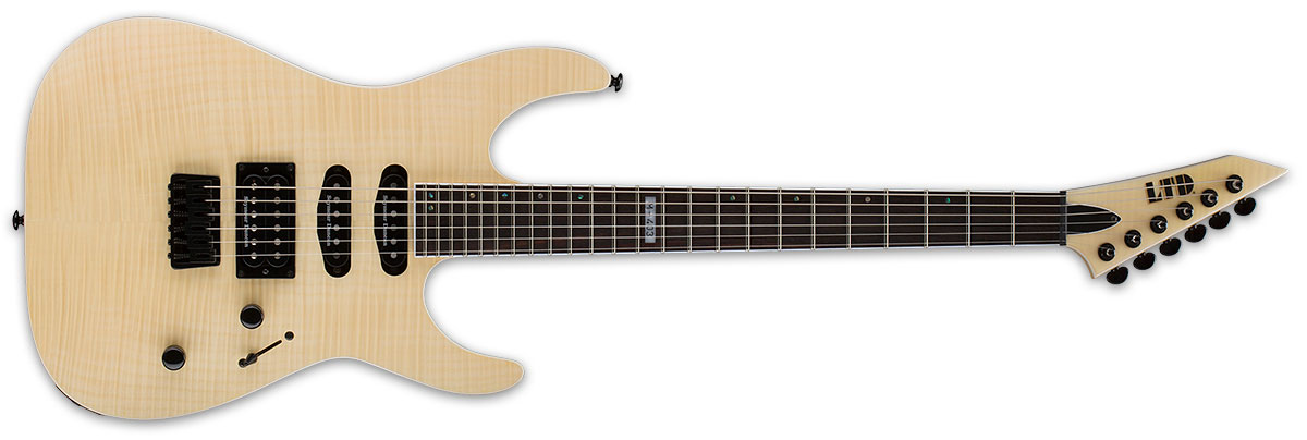 ESP LTD M Series M-403HT Hard Tail Flamed Maple Top Electric Guitar - Natural Satin Finish (LM403HTFMRNS)