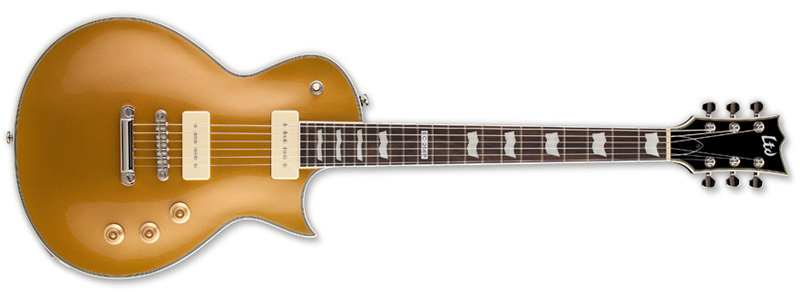 ESP LTD EC-256 Eclipse Electric Guitar Metallic Gold Finish (LEC256PMGO)