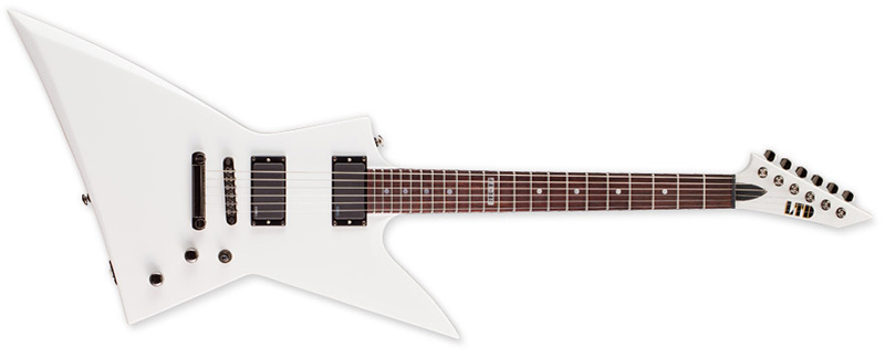 ESP LTD EX-360 SW Electric Guitar - Snow White Finish Mahogany Body Maple Neck & Rosewood Fingerboard (LEX360SW)