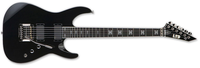 ESP LTD JH-600 Jeff Hanneman Signature Series Electric Guitar - Black Finish Alder Body (LJH600BLK)