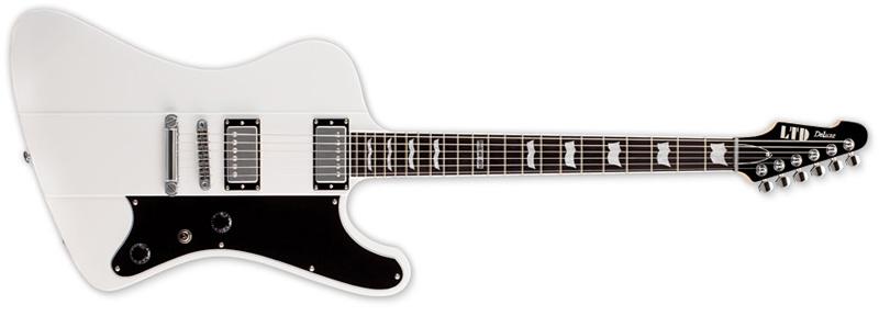 ESP LTD PHOENIX-1000 SW Phoenix Series Electric Guitar - Snow White Finish Mahogany Body Seymour Duncan (LPHX1000SW)