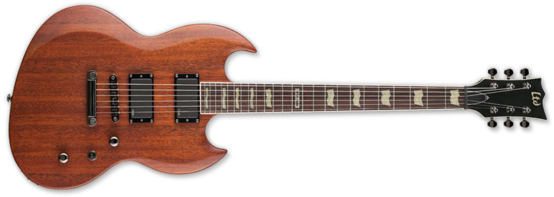 ESP LTD VIPER-300M Guitar in Vintage Brown Satin Finish (LVIPER300MVBS)
