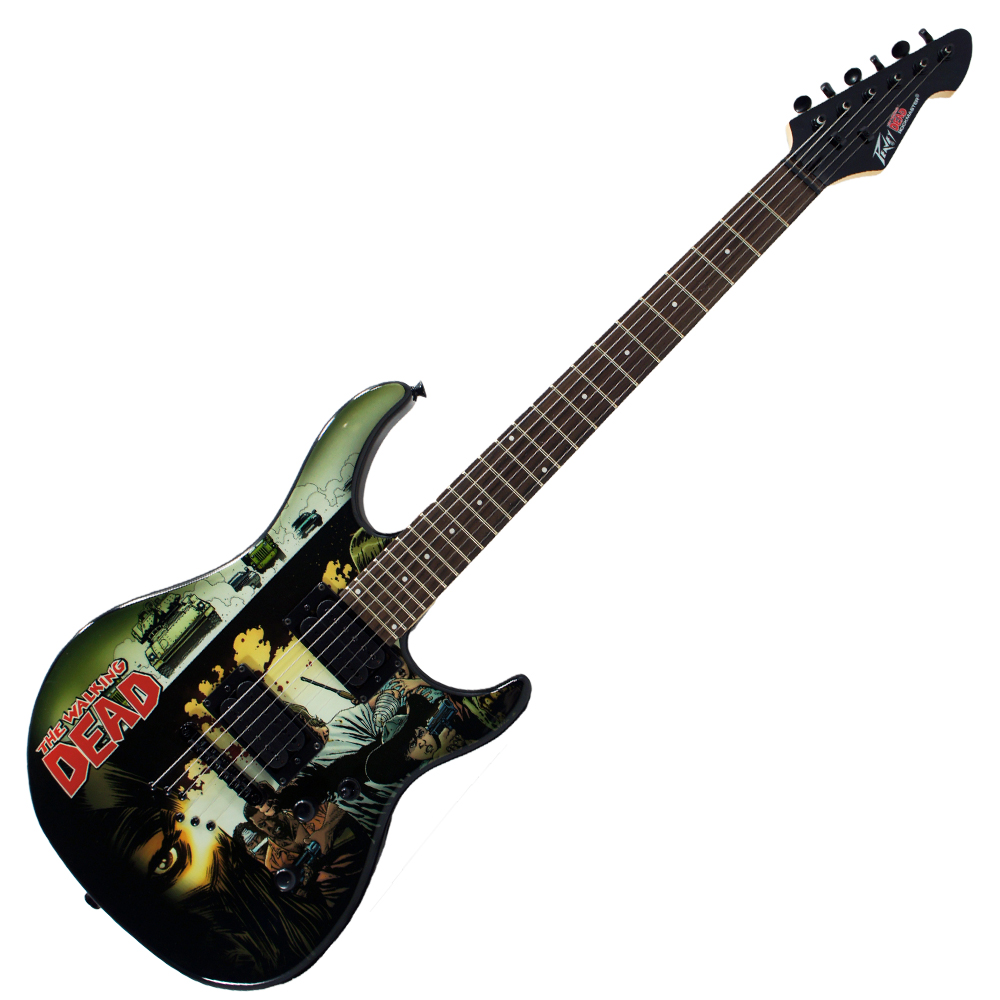 Peavey Walking Dead Wrap Cover Predator Solid Body Electric Guitar (3021050)