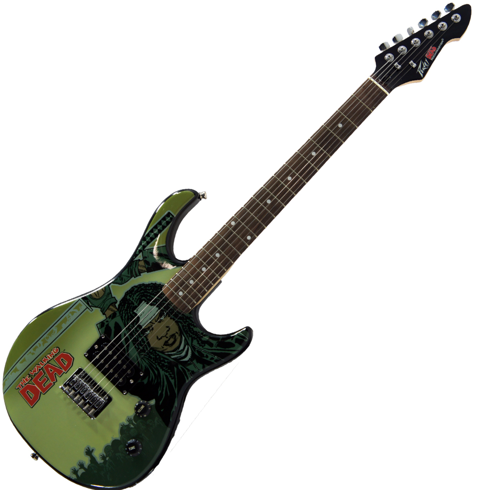 Peavy Rockmaster Full Size The Walking Dead - Michonne Splash Maple Neck 21 Fret Electric Guitar