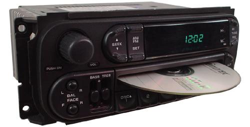 2002-2004 Chrysler Concorde Factory Receiver AM/FM Radio ...
