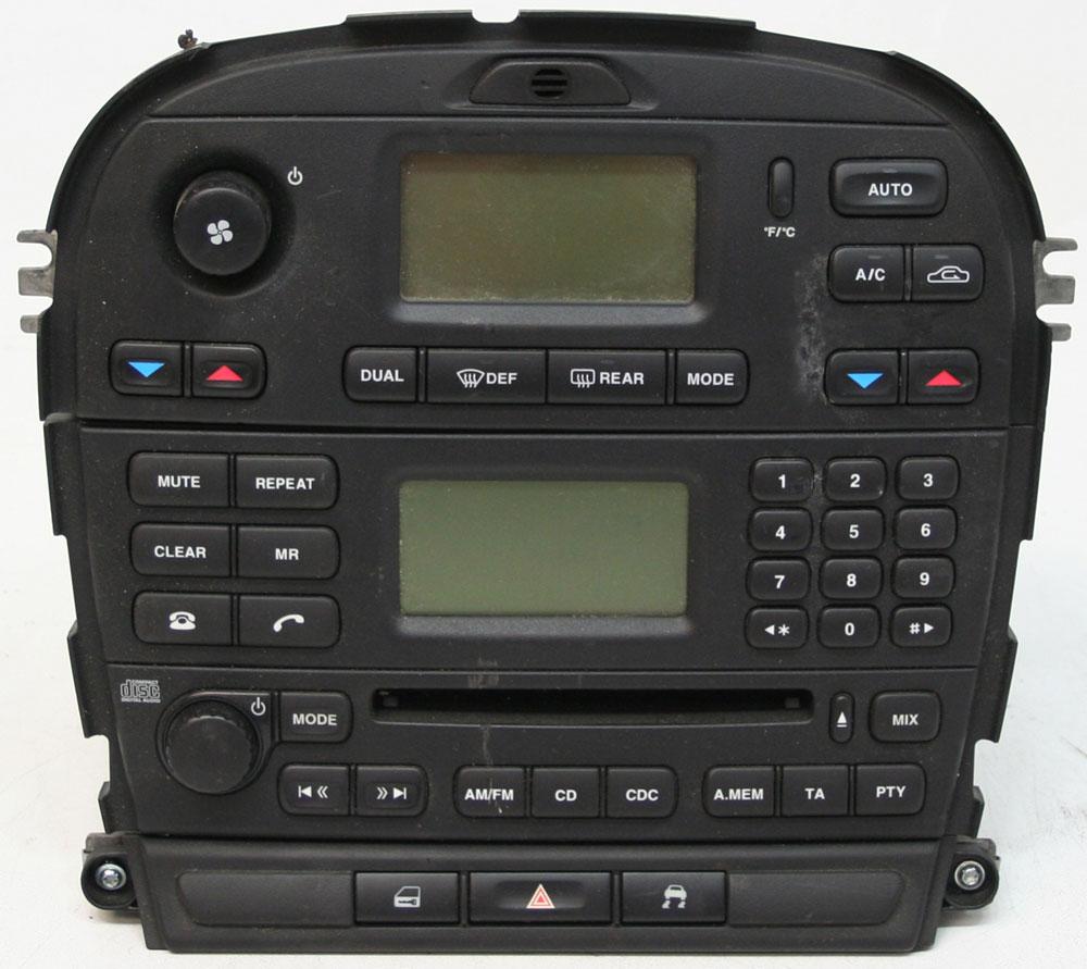 2003-2007 JAGUAR S-TYPE SAT NAV RADIO CD PLAYER UNIT