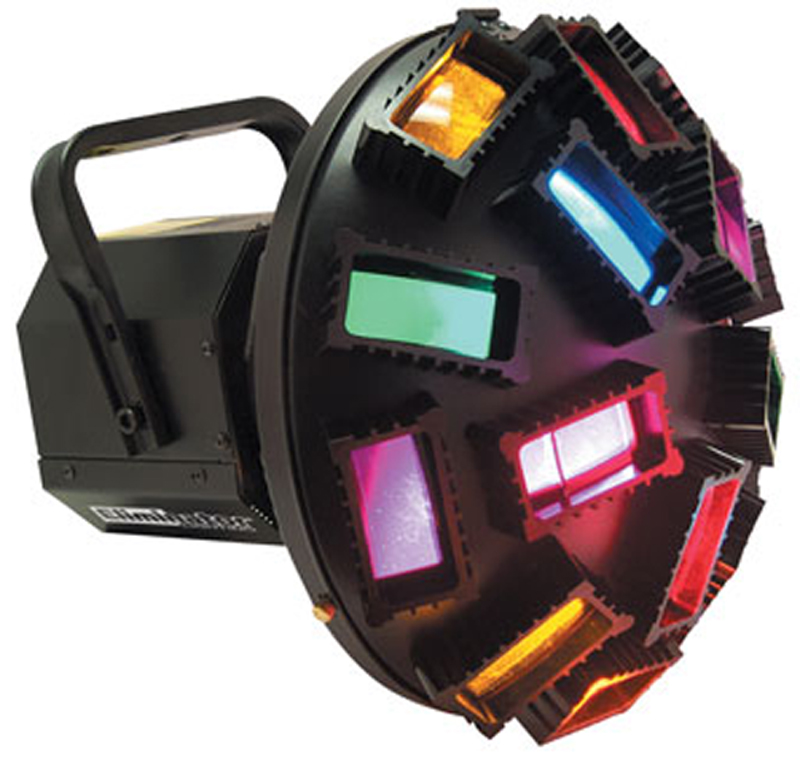 Eliminator Lighting E-110 Special Effects Jumbo Mushroom Light w/ Criss Cross Effect 30 Multi-Colored Beams