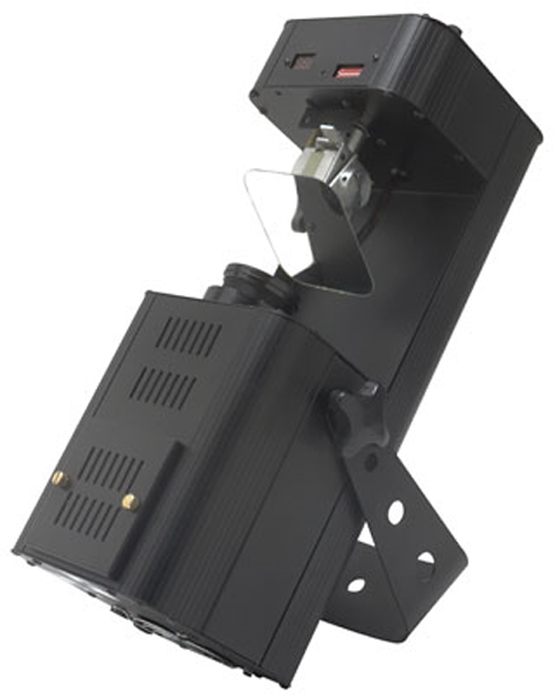 Eliminator Lighting E-122  1.0 DMX Scanner 3-Channel Instigator Model Multiple Gobos Sound Activated