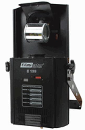 Eliminator Lighting E-139 2.0 DMX Barrel Scanner Effect Imitator 4-Channel Multi-Colored Gobos & Built-in Microphone