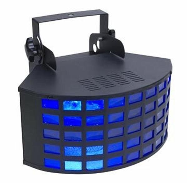 Eliminator Lighting E-145 II Multi Color Light Effect Triple Derby Beam Fixture RGB
