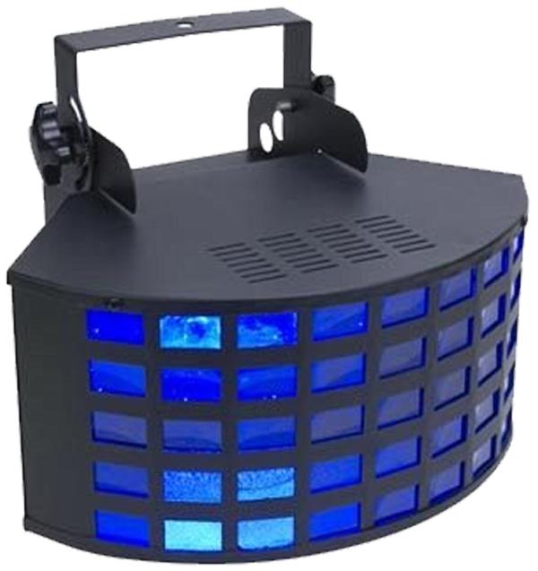 Eliminator Lighting E145 II LED Triple Derby Crisscross Beam Effect Light RGB