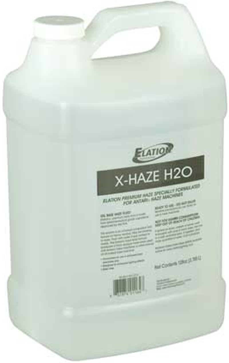 Elation X-HAZE H2O Water Based Hazed Machine Fluid