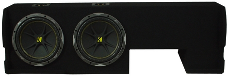 F-150 00-03 Ford Crew Cab Loaded Sub Box W/ Kicker C10s and ZX400.1 Amp