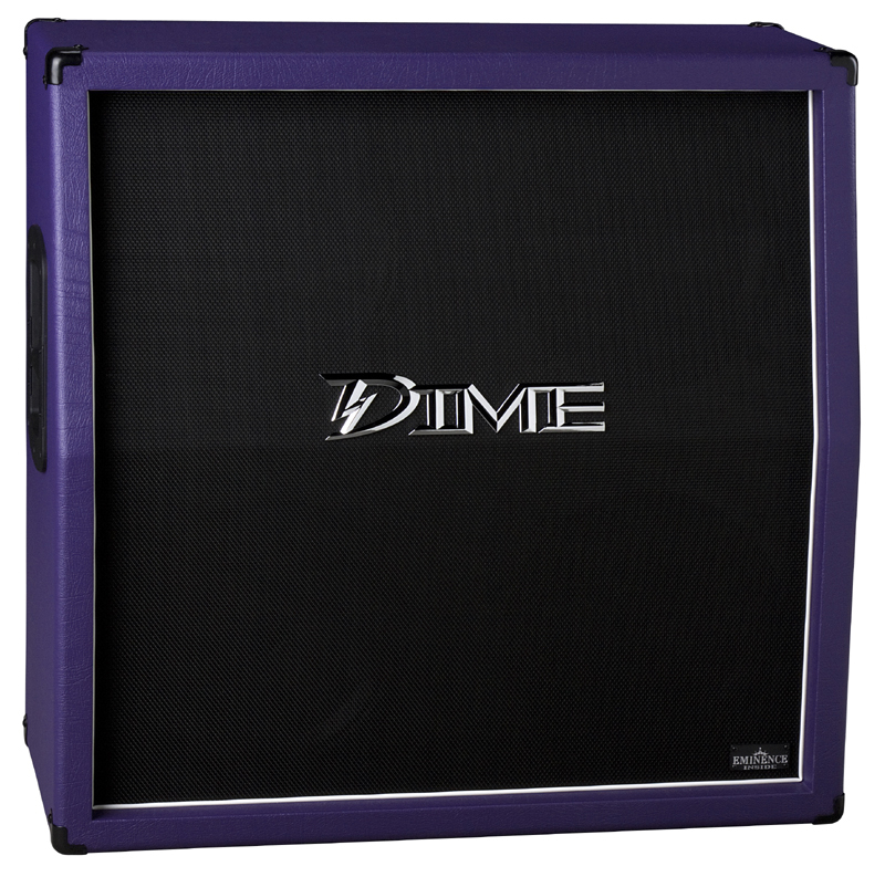 "Dime Amplification D412 Slanted 4 x 12"" SPEAKER CABINET - Purple Color D412SLPRP (D412 SL PRP)"