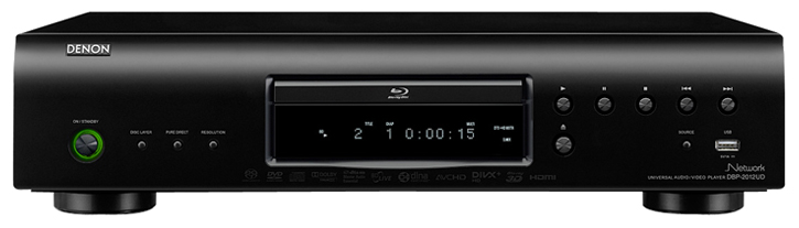 Denon Home Theater DBP-2012UDCIP Universal Audio CD / Blu-ray / DVD Video Player (DBP2012UDCIP) - Limited Quanities!