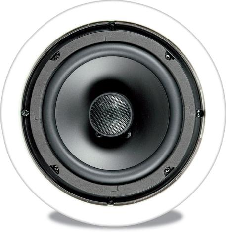 DUAL DC365C 6.5 Inch Titanium-Dome Tweeter In-Wall Home Audio Theater Speakers
