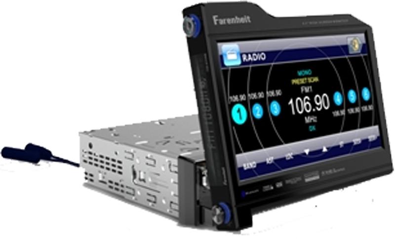 Farenheit TID-830NR 8.3? Rotating screen i-pod ready