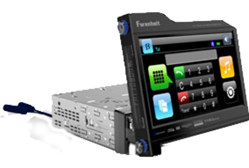 Farenheit TID-831NRBT 8.3? Rotating screen Analog TV Tuner Blue tooth