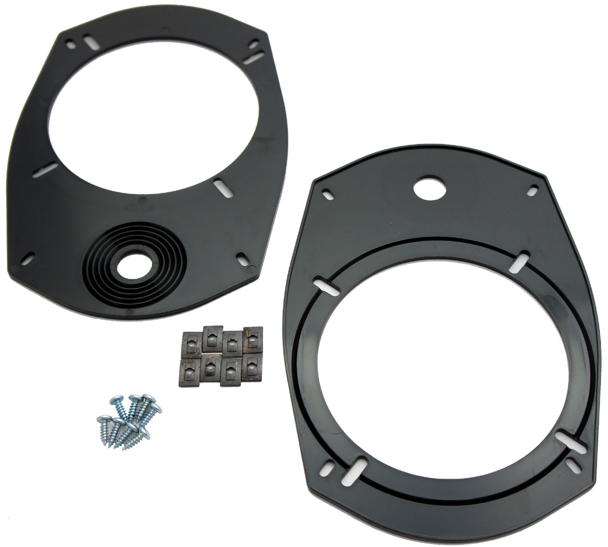 """Fits Jeep Compass 2007-2017 Front Door to 6.5"""" Component Speakers Adapter New"""