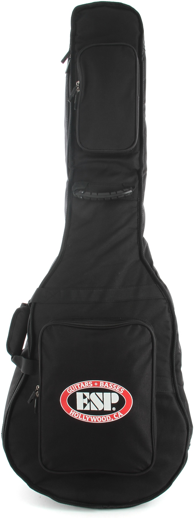 ESP CGIGDXB LTD Deluxe Bass Gig Bag with Large ESP Logo and External Pockets