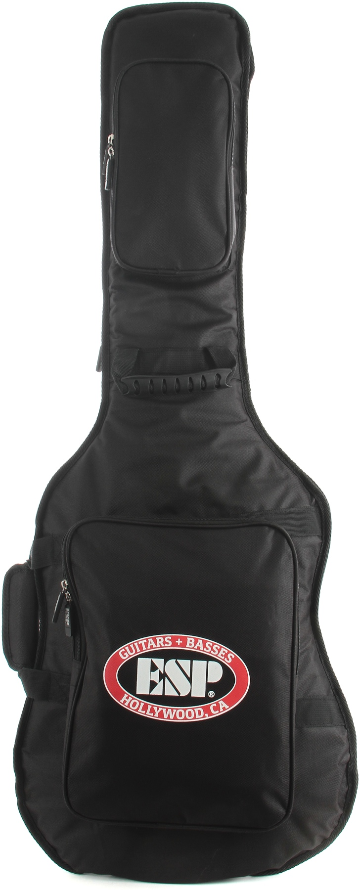 ESP CGIGDXG Heavy Duty Deluxe Gig Bag for LTD & ESP Guitar with 2 External Pockets for Music Sheets/Strings