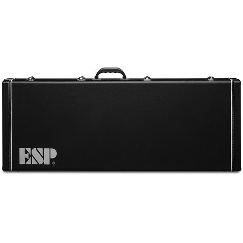 ESP F XTRA FF CASE Extra-Long Black F-200B Form-Fitted Hardshell Guitar Case (CFXLFF)