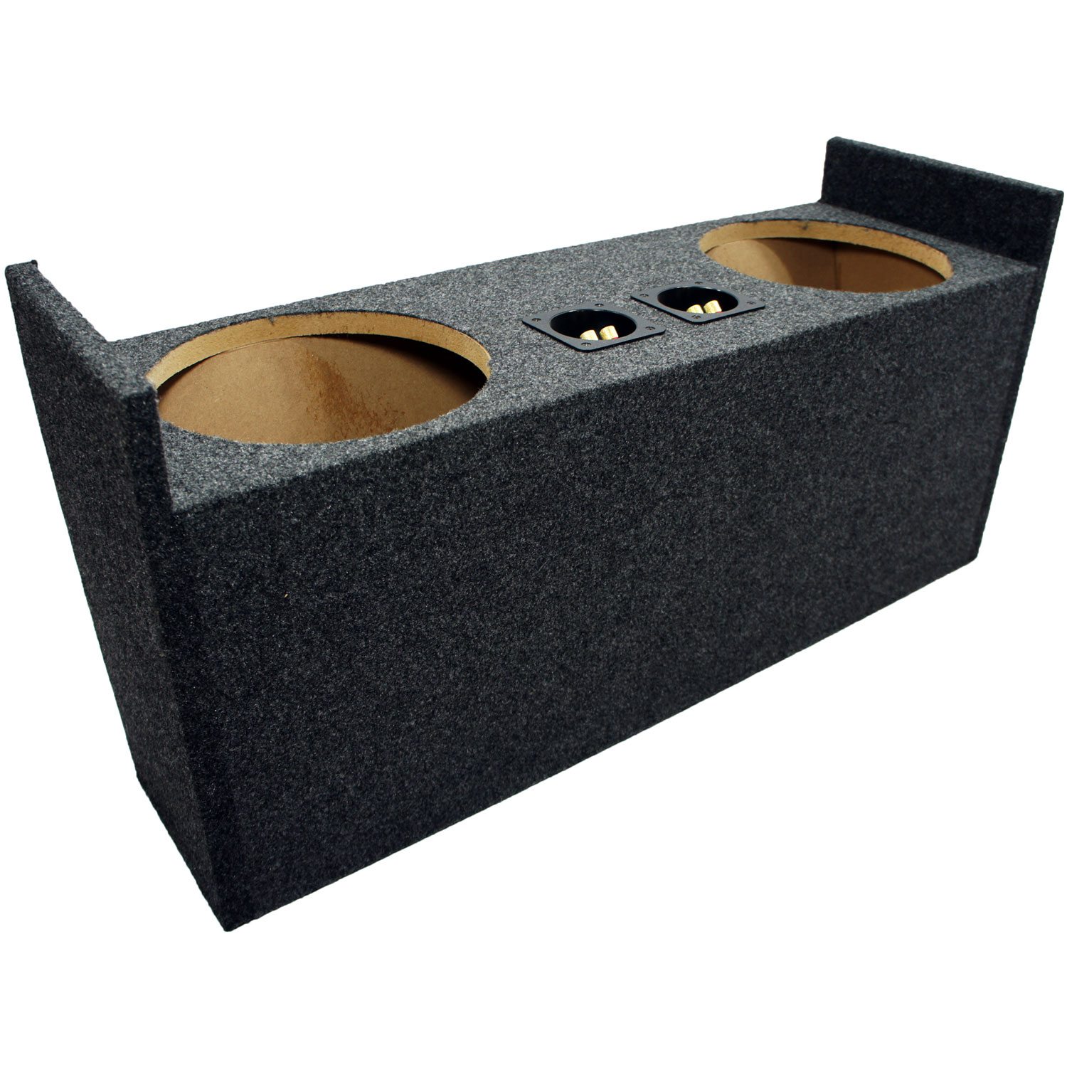 "Jeep Wrangler YJ & TJ 87-06 Dual 10"" Loaded Kicker C10 Subwoofer Box (10C10-4)"