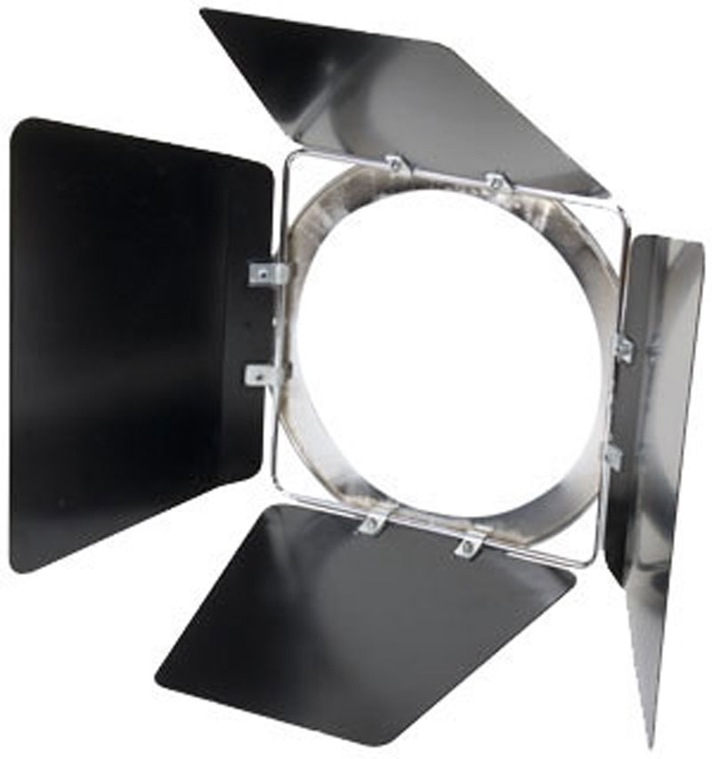 Elation OPTI/BDB Barn Doors for Opti PAR Fixture (Black)