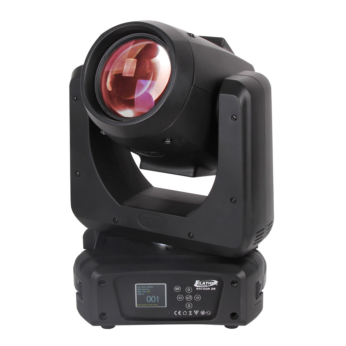 Elation RAYZOR BEAM 2R 130 Watts Moving Head with 6 Button Touch Control Panel (RAY536)