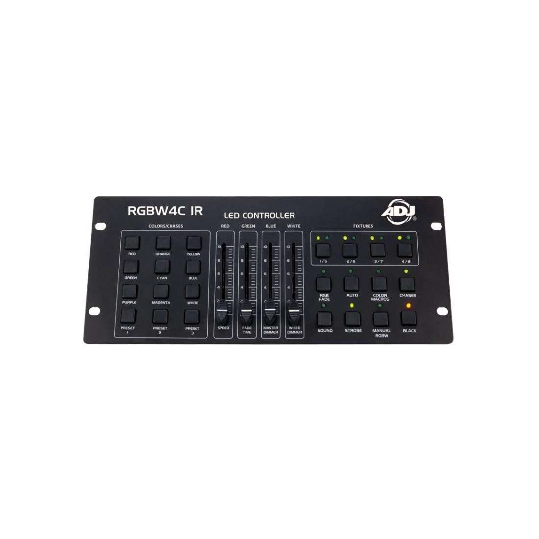 American DJ RGBW4C IR Lighting 32 Channel RGBA or RGBW LED Light Controller - New