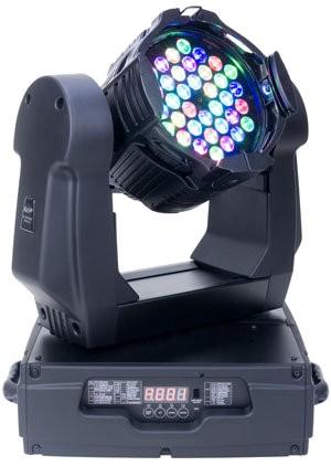 Elation Lighting DLED PAR ZOOM MH Rugged Design Moving Head w/ 36 x3W LEDs RGB