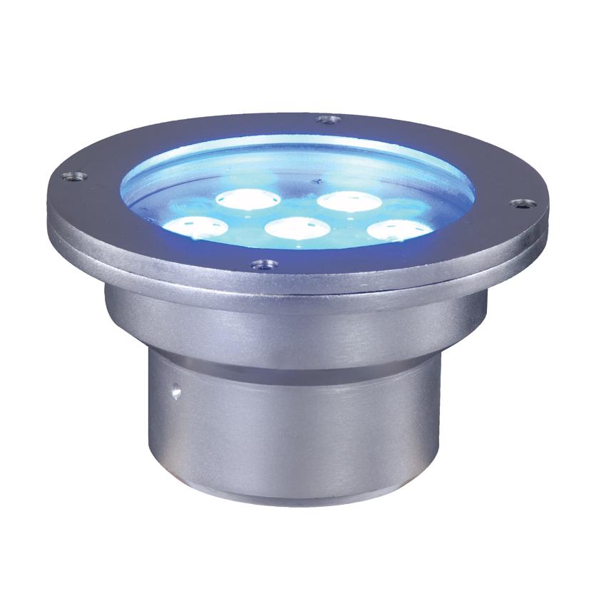 Elation ELAR-4W02CW Cool White Underwater Blue Stage Light 7 x 3W High Power LED