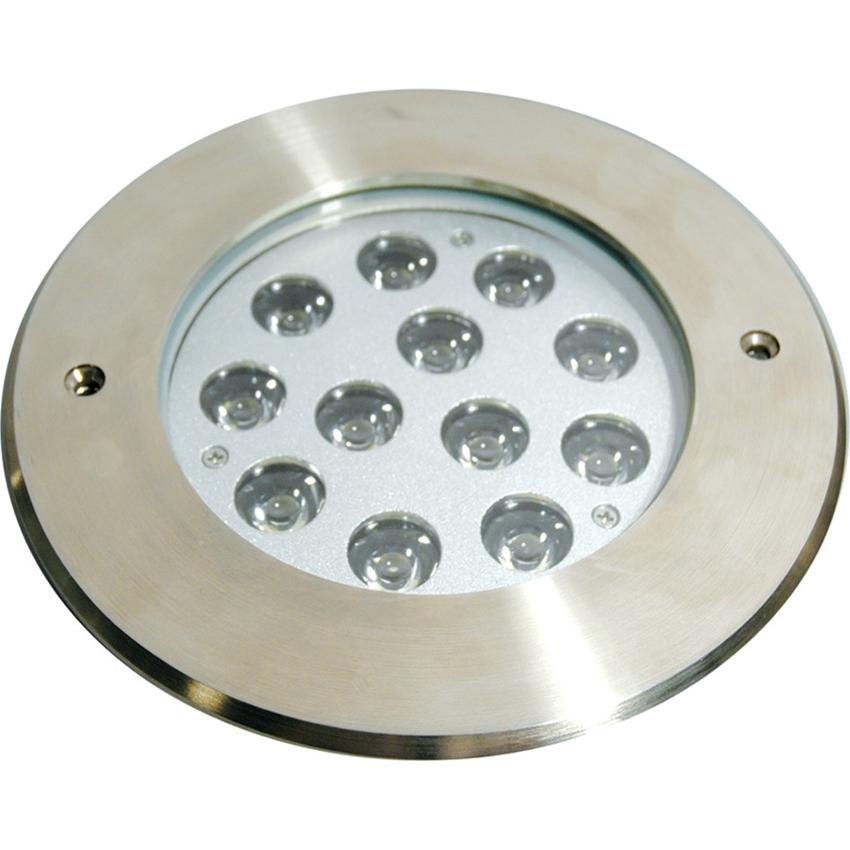 Elation ELAR-4Z02B 12 x 3Watt Blue LEDs Underwater Light IP 68 Outdoor Rated
