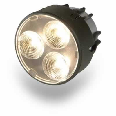 Elation LEDEMITYMR16/32 Replacement 3 x 1W 16 LED MR High Output Lamp 3,200K