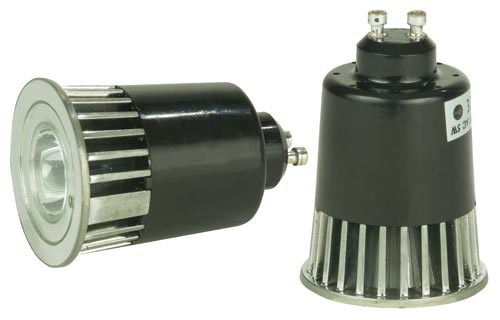 Elation MR RGB GU10 High Power Multi-Color Operation LED Lamp with GU10 Socket