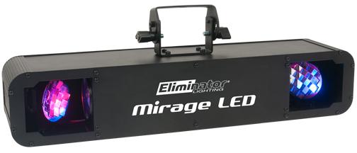 Eliminator Lighting MIRAGE LED Dual Rotating Mirror Moonflower LED Stage Fixture