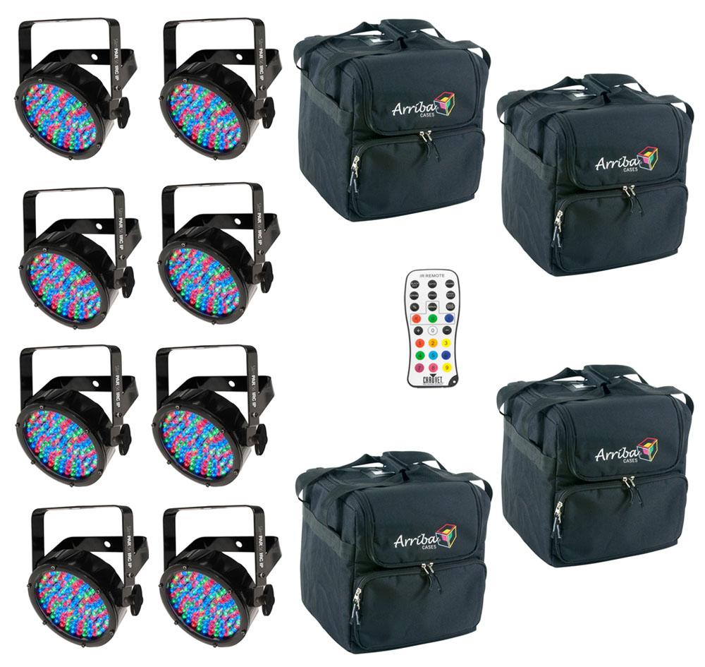 Chauvet dj lighting 8 slimpar56 irc ip outdoor par can for Outdoor lighting packages