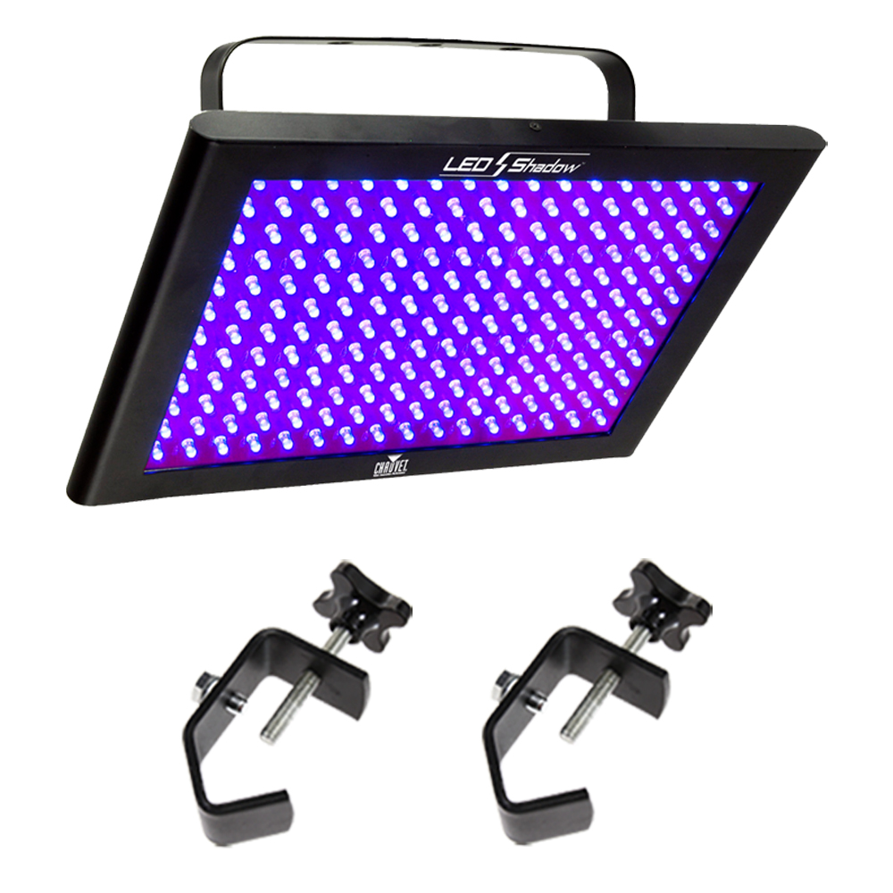 Chauvet Tfx Uvled Led Uv Blacklight Panel Fixture Package