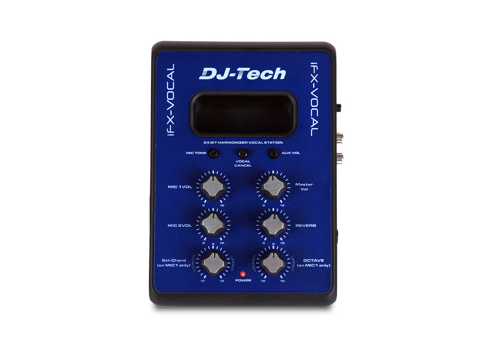 DJ Tech iFX Vocal Mini Mixer with Vocal Harmony And Voice Cancel Battery Powered