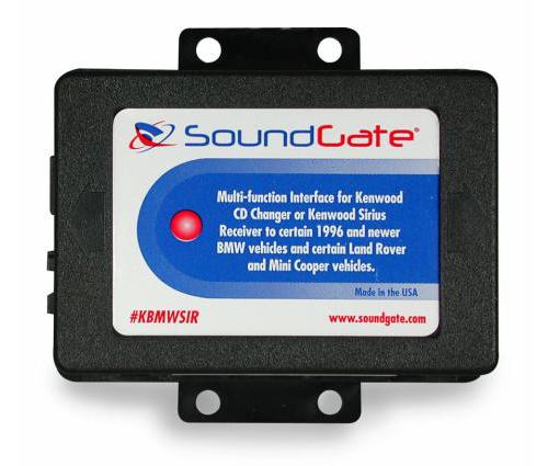 SoundGate KBMWSIRV2 Add Kenwood Sirius/Kenwood Changer to Select 1996-2004 BMW Land Rover and Mini-Cooper Vehicles