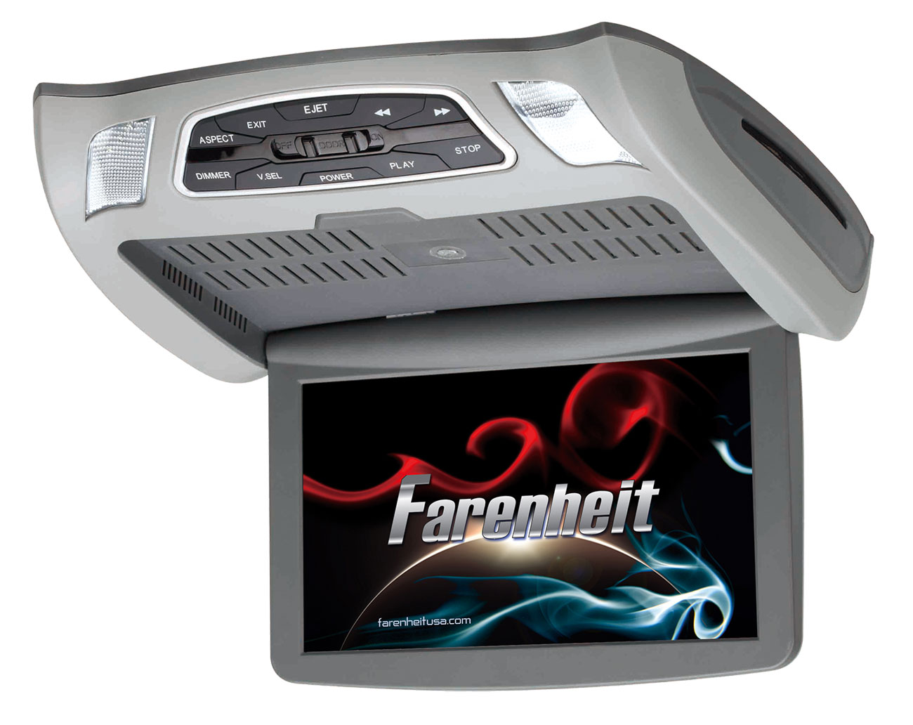 """Farenheit CM-103 Ceiling Mount DVD Entertainment System with 10.3"""" LCD Screen"""