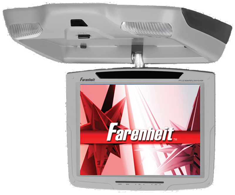 Farenheit T-1090CMGR 10.4?, 4:3 Ratio, Swivel screen, TFT/LCD (Gray)