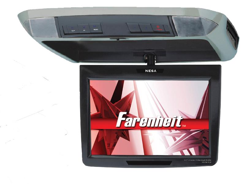Farenheit T-1100CM  11.2? Wide, Swivel screen,  TFT/LCD  Dome lights