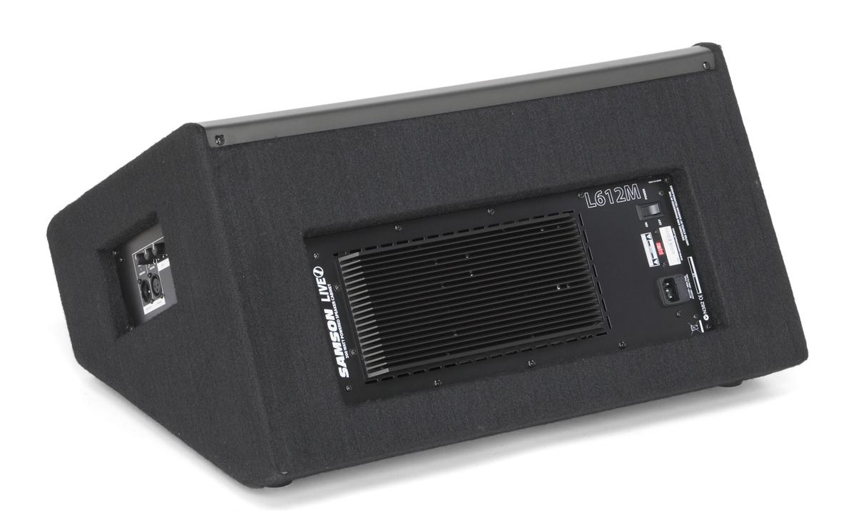 Samson LIVE! 612M Active Stage Monitor 300 Watts 2 - Way ...